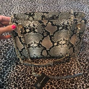 Beautiful Snake Skin Purse! Brand New With Tags!
